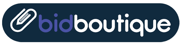 the bid boutique, sales toolkit