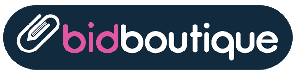the bid boutique, business writing